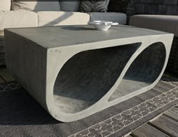 Coffee Table, Concrete Table Concrete Furniture element east studio Montauk, NY