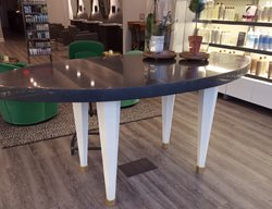 Concrete Table, Salon Concrete Furniture M Concrete Studios LLC Dayton, OH