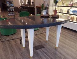 Concrete Table, Salon Concrete Furniture M Concrete Studios Dayton, OH