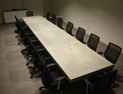 Conference Room Table Concrete Furniture Mudd Studios Anaheim, CA