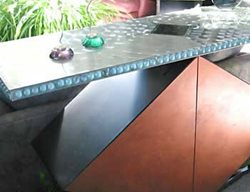 Diamond Base, Bar Concrete Furniture Concrete Studio Dallas, TX