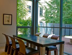 Modern Dining Table Concrete Furniture Chicago Concrete Studio Inc Blue Island, IL