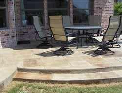 Stamped Patio Texas Concrete Patios Deck-O-Art Inc. McKinney, TX