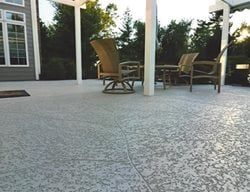 Sunset, Patio, Stamped Concrete Concrete Patios Sundek of Washington Chantilly, VA