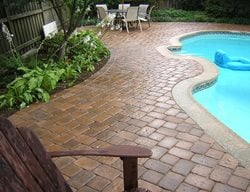 Concrete Paver, Pavers, Backyard Pavers Concrete Pavers NRC Landscape Construction Vienna, VA