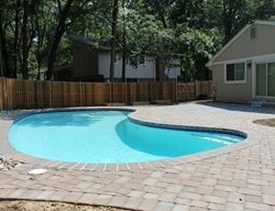 Concrete Paver Pool Deck Concrete Pavers NRC Landscape Construction Vienna, VA