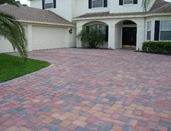 Driveway, Entrance Concrete Pavers Concrete Designs LLC Holiday, FL