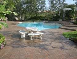 Brown, Tiles Concrete Pool Decks Super-Krete Products Spring Valley, CA