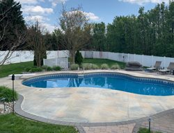 Concrete Pool Deck, Pool Deck, Decorative Concrete, Concrete Concrete Pool Decks New Castle Artisan Turnersville, NJ
