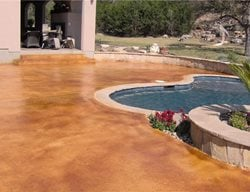 Concrete Pool Decks Custom Concrete Solutions Schertz, TX
