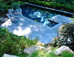 Shady, Swimming Pool, Stamped Concrete Concrete Pool Decks JMM Concrete Danbury, CT