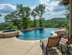 Textured Pool Deck, Concrete Coating Concrete Pool Decks Sundek of Houston Katy, TX