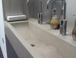Commercial Sink Concrete Sinks Oso Industries Brooklyn, NY