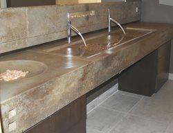 Concrete Sinks Custom Crete Werks LLC Racine, WI