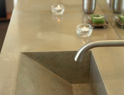 Geometric, Slate Concrete Sinks California Concrete Designs Anaheim, CA