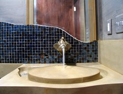 Inverted Concrete Sink, Concrete Sink Design Concrete Sinks JM Lifestyles Randolph, NJ