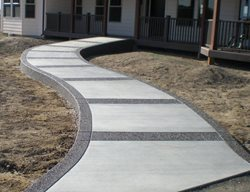 Concrete, Concrete Walkway, Walkway, Curb Appeal, Decorative Concrete  Concrete Walkways Chattanooga Concrete Co. Chattanooga, TN