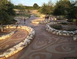 Mission Concepcion Park, Exposed Aggregate Paths Concrete Walkways Sundek of San Antonio San Antonio, TX