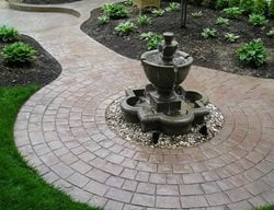 Stained, Pavers Concrete Walkways Split-Rok Construction Co Lakewood Township, NJ