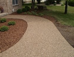 Walkway, Concrete, Concrete Walkway, Curb Appeal, Decorative Concrete Concrete Walkways HM Concrete Design Rockville, MD
