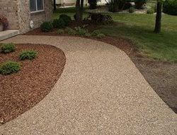 Walkway, Concrete, Concrete Walkway, Curb Appeal, Decorative Concrete Concrete Walkways HM Concrete Design Rockville, MD