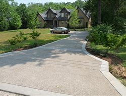 Exposed Aggregate Driveway Exposed Aggregate Demonbreun Construction, LLC Nashville, TN