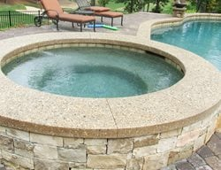Exposed Aggregate, Pool Coping Exposed Aggregate Amazing Concrete Inc Aliso Viejo, CA