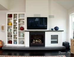 Cast Hearth, Cast Mantel Fireplace Surrounds SunWorks Decorative Concrete LLC Annville, PA