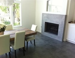 Modern Fireplace Fireplace Surrounds Art Of Concrete Encino, CA