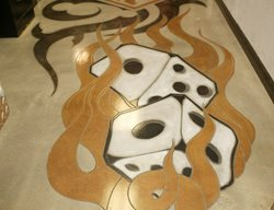 Dice, Flames Floor Logos and More Floor Seasons Inc Las Vegas, NV
