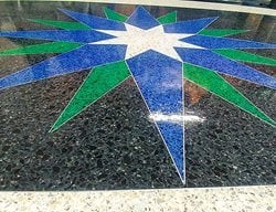 Epoxy Star Design Floor Logos and More EPOXY SOLUTIONS INC Brampton, ON
