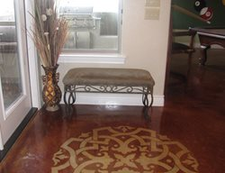 Floor Logo Floor Logos and More Custom Concrete Solutions Schertz, TX