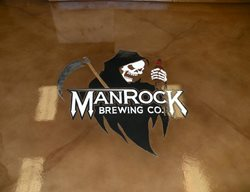 Floor Logo, Microbrewery Floor Logos and More CA Coatings Grover Beach, CA