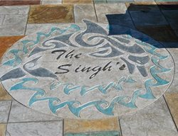 Floor Logos and More Greystone Masonry Inc Stafford, VA