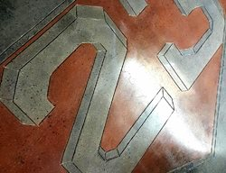 Polished Design, 23, 3d Number Floor Logos and More Man Up Designs Boyertown, PA