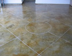 Floor, Garage Garage Floors Concrete Mystique Engraving Antioch, TN