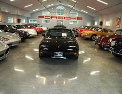 Porsche Collection, Polished Garage Floor Garage Floors Custom Concrete Solutions, LLC West Hartford, CT