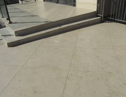 Limestone Coating Get the Look - Exterior Overlays Floor Strength Signal Hill, CA