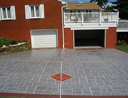 Red Diamond, Stencil Get the Look - Exterior Overlays Geo Cast Design Pittsburgh, PA