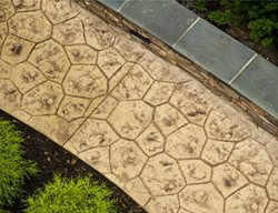 Random Stone, Stone Stamp Get the Look - Stamping Hyde Concrete Pasadena, MD