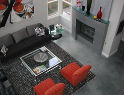 Dark Grey, Modern Gray Floors Masterpiece Concrete Compositions Oceanside, CA