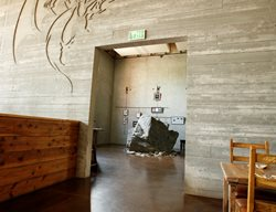 Stone Brewery, Board Formed Concrete Wall Interior Walls Westcoat San Diego, CA