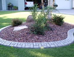 Brick, Barrier, Curbing Landscape Borders Big Sky Concrete Design Lewistown, MT