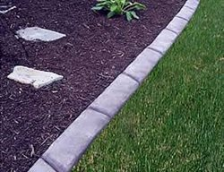 Natural Stone, Long Landscape Borders Concrete Evolutions Greenfield, IN