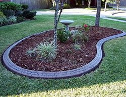 Small Stone, Kidney Bean Landscape Borders CURB-IT