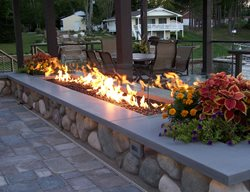 Concrete Fire Pit Cap Outdoor Fire Pits Hard Topix Jenison, MI