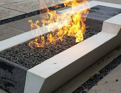 Concrete Fire Pit Outdoor Fire Pits Sarche' Concrete Design Dallas, TX