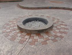 Eco-Stain Outdoor Fire Pits J&H Decorative Concrete LLC Uniontown, OH