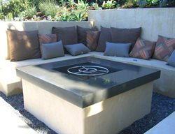 Outdoor Fire Pits Hart Concrete Design Costa Mesa, CA