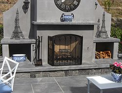 Outdoor Fireplaces Lasting Impressions in Concrete Petaluma, CA